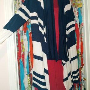 Cardigan tunic set XL